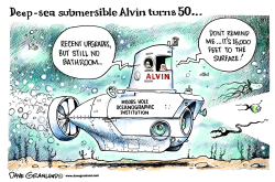 Deep-sea Alvin sub 50th by Dave Granlund