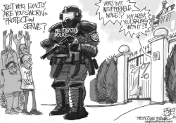 Cops For Plutocracy by Pat Bagley