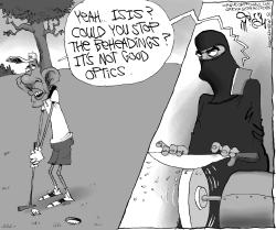 Obama and ISIS Optics by Gary McCoy