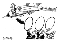 Obama ISIS Stategy by Jimmy Margulies