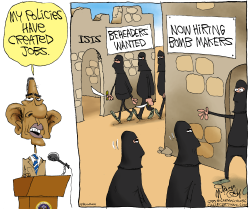 Obama Grows ISIS  by Gary McCoy