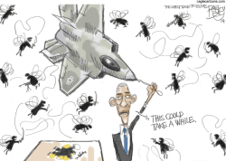 Bad Fly With a Gun by Pat Bagley