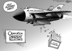 Bombing ISIS by Nate Beeler