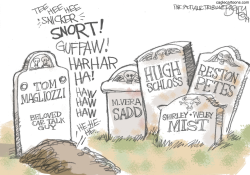 RIP Car Talk by Pat Bagley