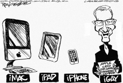 AppleCEO Cook by Milt Priggee
