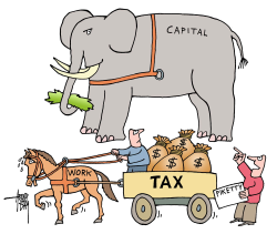 Piketty and taxpayers by Arend Van Dam
