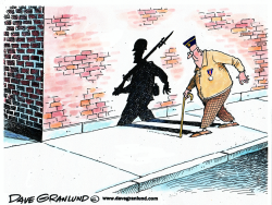 Veteran's Day shadow by Dave Granlund