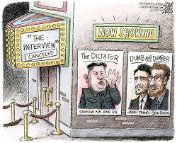 The Dictator  by Adam Zyglis