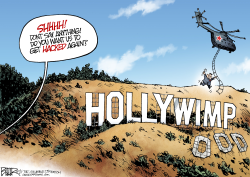 Hollywood Hacker  by Nate Beeler