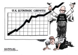 US Economic growth color by Jimmy Margulies