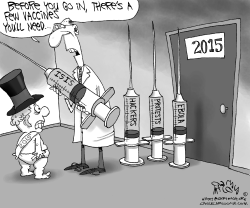 Baby New Year Vaccines by Gary McCoy