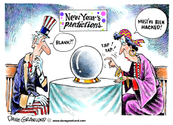 New Year's predictions by Dave Granlund