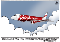 AIRASIA FLIGHT 8501,  by Randy Bish