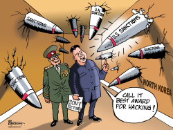 Sanctions on North Korea by Paresh Nath