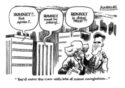 Romney 2016 by Jimmy Margulies