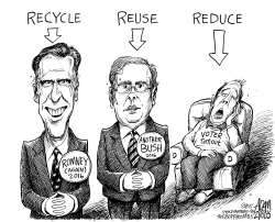 GOP Going Green by Adam Zyglis