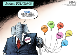 GOP Deflate-Gate  by Nate Beeler
