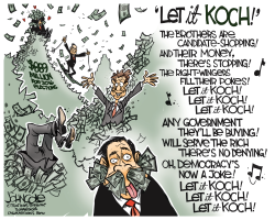 Let in Koch  by John Cole