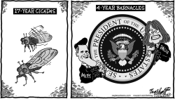 2016 Presidential Race by Bob Englehart