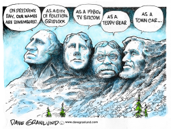Presidents Day by Dave Granlund