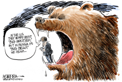 Big Bear Fear by Jeff Koterba