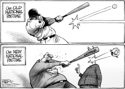 National Pastime by Nate Beeler