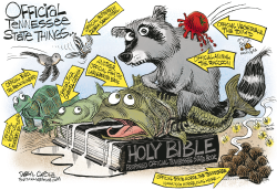 The Bible and Other Official Tennessee Stuff  by Daryl Cagle