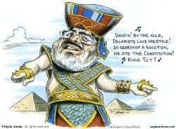 Mohamed Morsi  -  by Taylor Jones