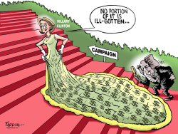 Hillary's funding issue by Paresh Nath