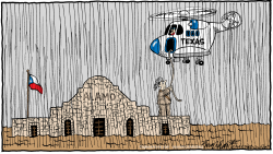 Flooding In Texas by Bob Englehart