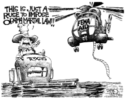 Texas Flooded With Federal Aid by John Darkow