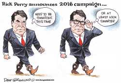 Rick Perry 2016 by Dave Granlund