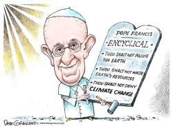 Pope Francis Encyclical by Dave Granlund
