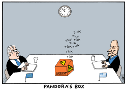 Pandora's box by Schot
