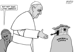 Pope Francis in Latin Amaerica by Rainer Hachfeld