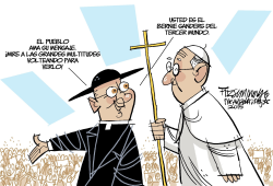 El Papa y Bernie Sanders /  by David Fitzsimmons
