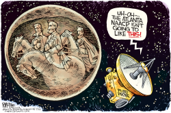 Stone Mountain Pluto  by Rick McKee