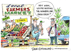 Farmers' Markets by Dave Granlund