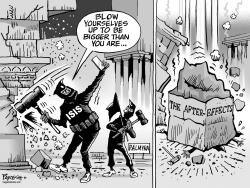 ISIS and Palmyra by Paresh Nath