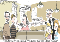 Marriage as God Intended  by Pat Bagley