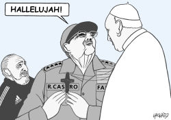Pope Francis in Cuba by Rainer Hachfeld