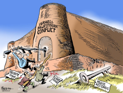 Israeli- Palestinian conflict  by Paresh Nath