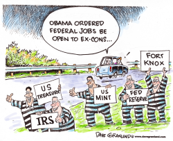 Ex-cons and federal jobs by Dave Granlund