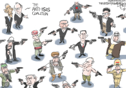War On ISIS  by Pat Bagley