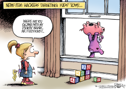 Hacked Toys  by Nate Beeler