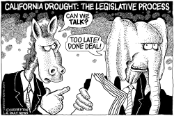 LOCAL-CA Calif Drought Bill Failure by Wolverton