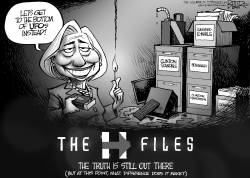 The H-Files by Nate Beeler