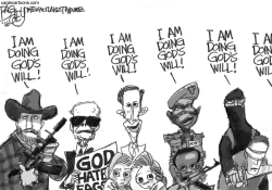 Spokesmen for God by Pat Bagley