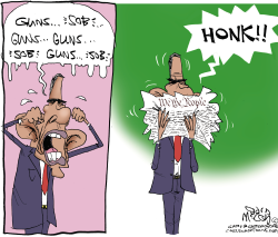 Obama's Kleenex  by Gary McCoy