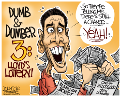 Dumb and Dumber Powerball  by John Cole